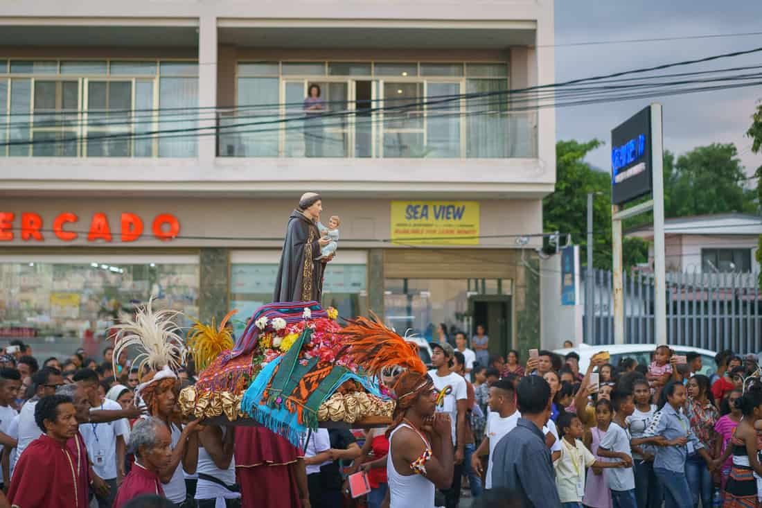 Saint Anthony procession Dili, East Timor