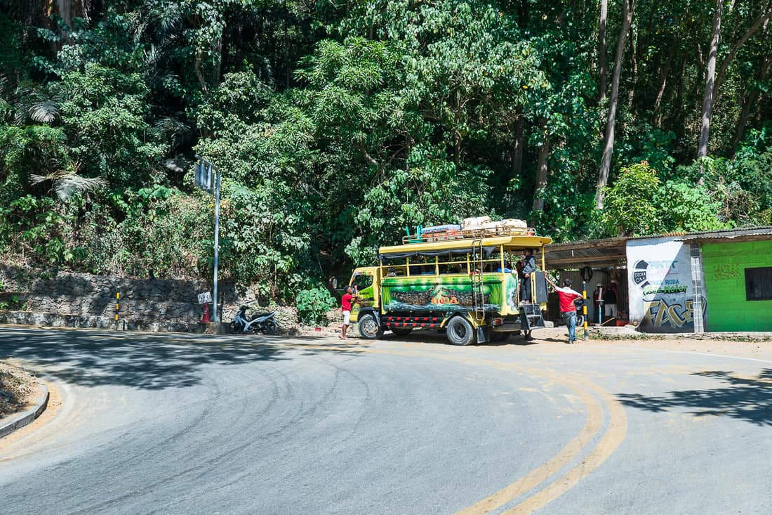 Angguna Dili to Maubisse, East Timor