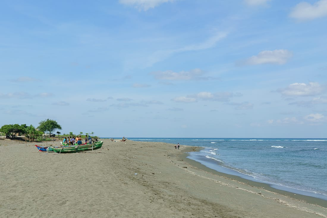 Suai beach, East Timor