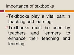 Facts About The Importance of Textbook In Teaching