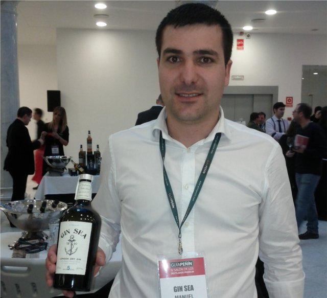 Manuel Barrientos, creador de Gin Sea