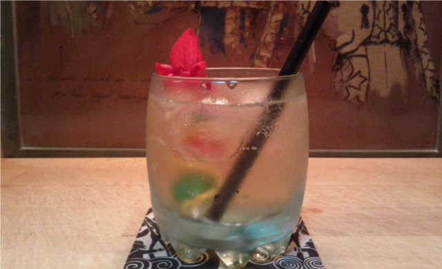 Ginger Rose Cocktail