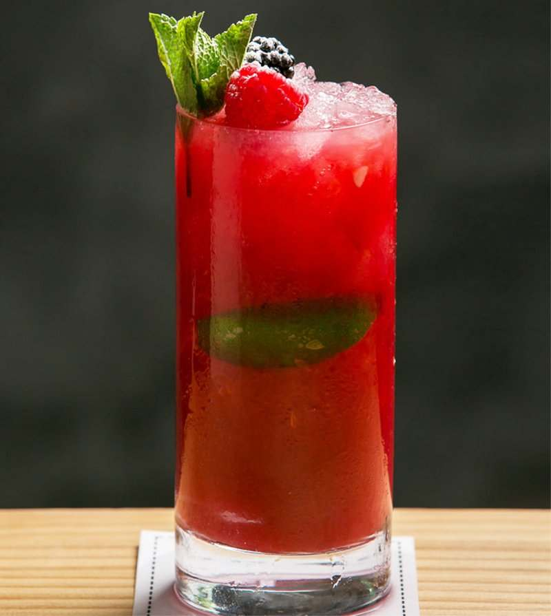 Summer Collins cocktail