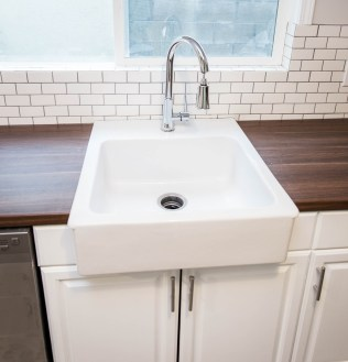 Sink with Window