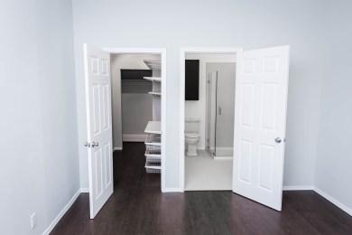 Master Walk-In Closet and Bathroom
