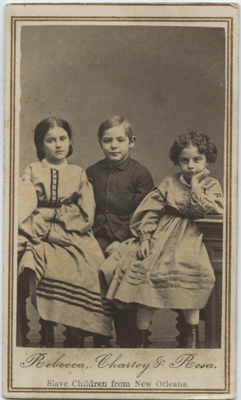 Slave Children from New Orleans - Rebecca Charley and Rosa