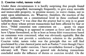 The Law of Obligations: Roman Foundations of the Civilian Tradition by Reinhard Zimmermann, Oxford University Press, Oxford, 1996. Page 652