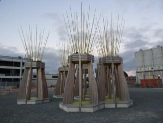 Christchurch street art fills the gap where buildings stood