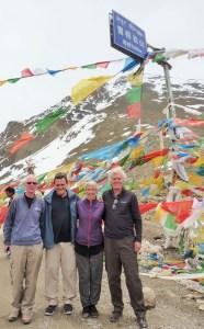 On top of the World Shugu La Pass - 5,300m,