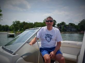 Captain Frank, Spirit Lake,, Iowa