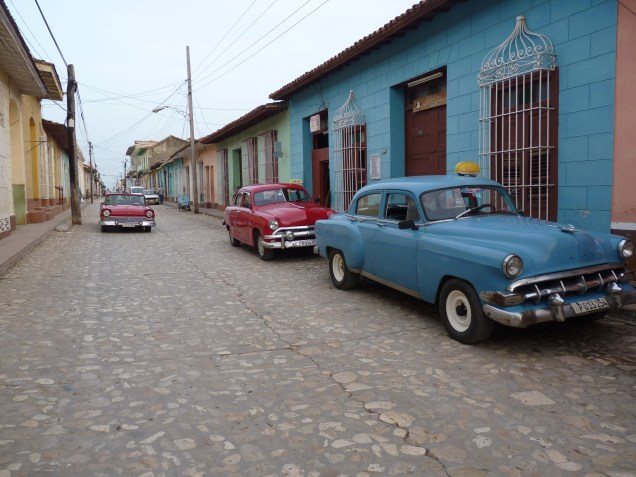 Moving through Cuba - taxi