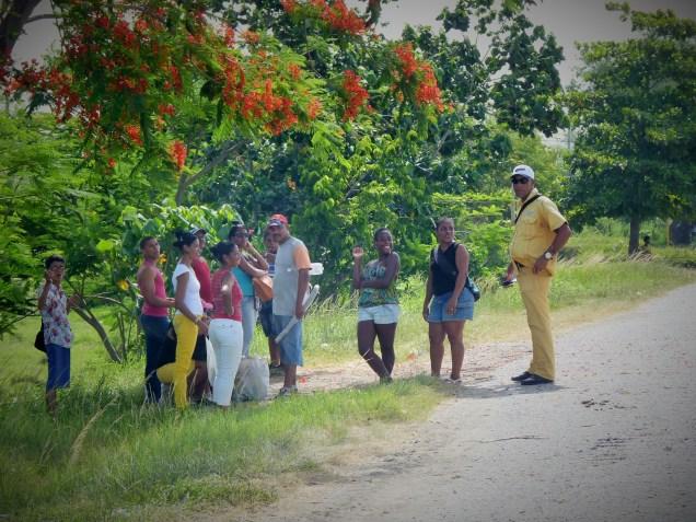 Moving through Cuba - hitchhiking