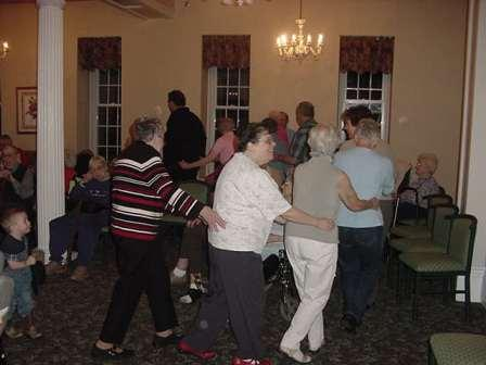 Dance Train At The Ho Down