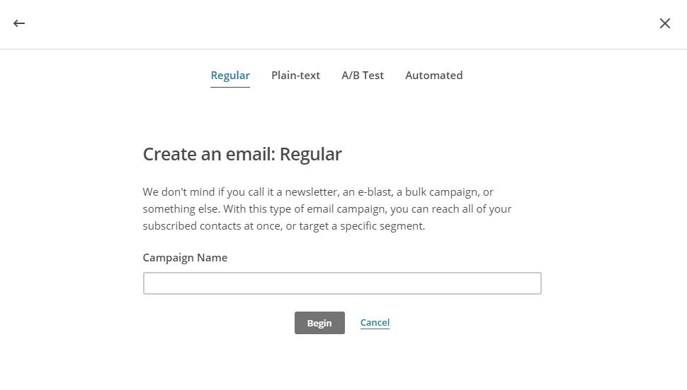 Sending Your First NewsletterWith Mailchimp