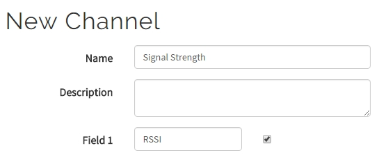Measure Wi-Fi Signal Levels with the ESP8266 and ThingSpeak