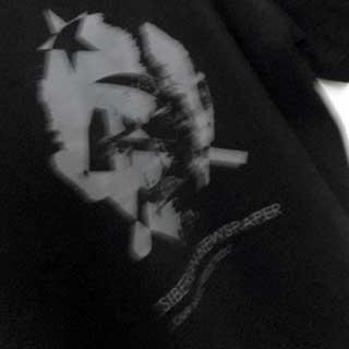 SIBERIAN NEWSPAPER Tシャツ(黒)