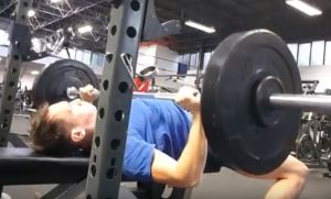 Bench press progressive overload