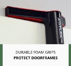 protects door frame