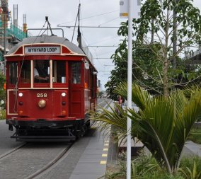 Auckland tram