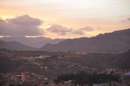 Sucre: Sunset at La Recoleta