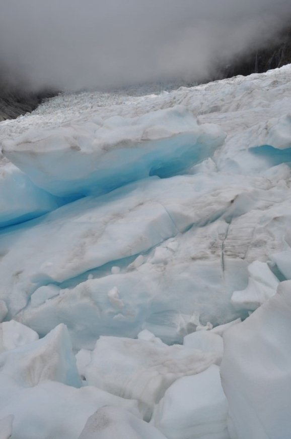 Fox Glacier ice