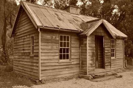 Arrowtown frontier buildings