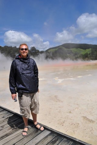 Bill at Wai-o-tapu