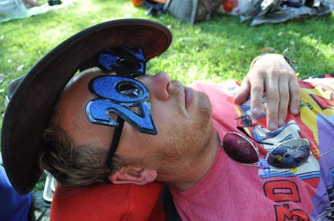 Bill having a nap