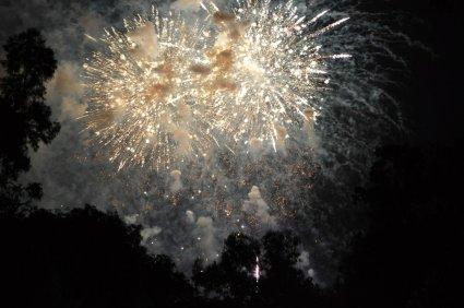 9pm fireworks