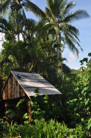 South Mole Island hut
