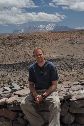 Bill at 4900m above sea level
