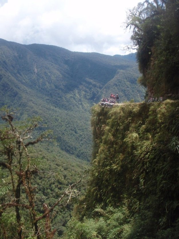 Death Road Bolivia on the edge