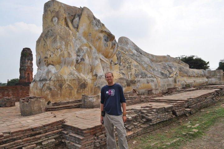 Reclining Buddha in Ayutthaya