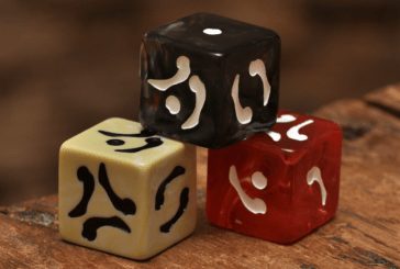 Fablestone Dice: Bone Origins unique themed dice