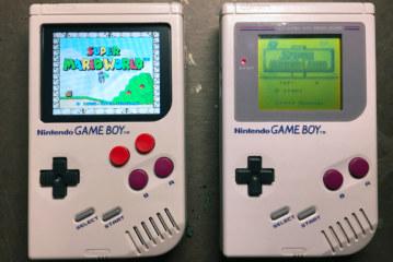 Raspberry pi zero plus original gameboy = nostalgia overload