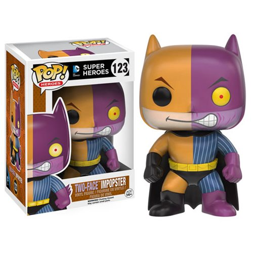 Pop Heroes/DC Super Heroes Two-Face Impopster