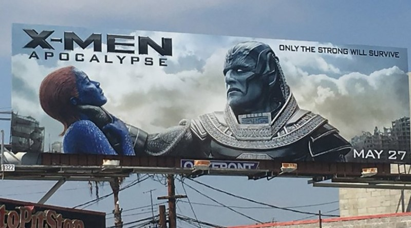 X-Men: Apocalypse Billboard by Tristan Cassel