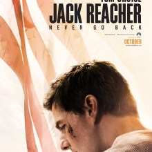 Jack Reacher: Never Going Back poster