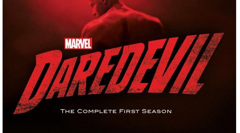 Marvel's Daredevil Season One Blu-Ray cover