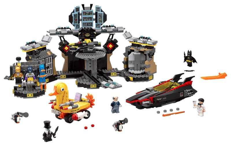 The LEGO Batman Movie Batcave Break-In set