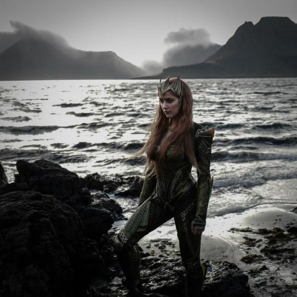 Amber Heard as Mera.