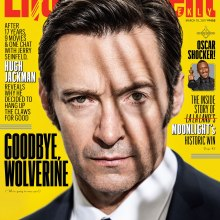 Hugh Jackman Entertainment Weekly cover