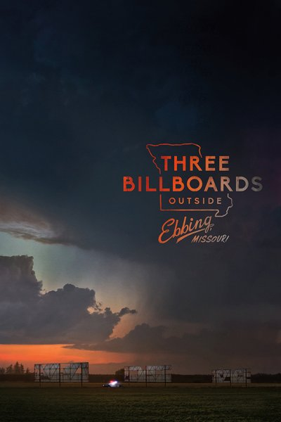 """Poster for the movie """"Three Billboards Outside Ebbing, Missouri"""""""