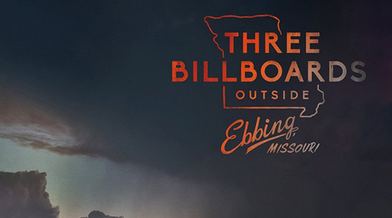"Poster for the movie ""Three Billboards Outside Ebbing, Missouri"""