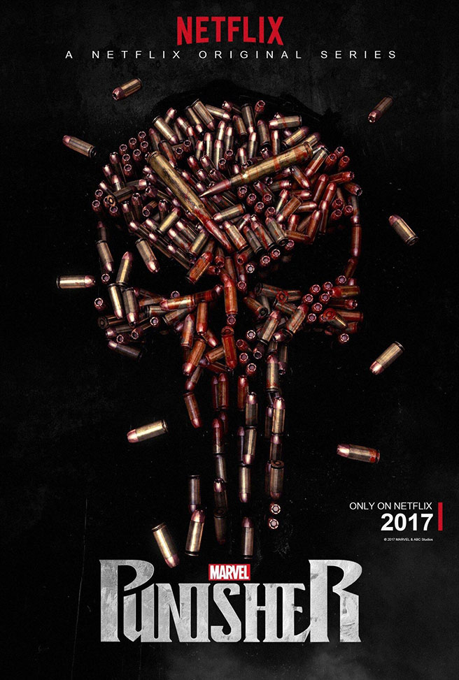 Marvel's The Punisher On Netflix Gets Posterization
