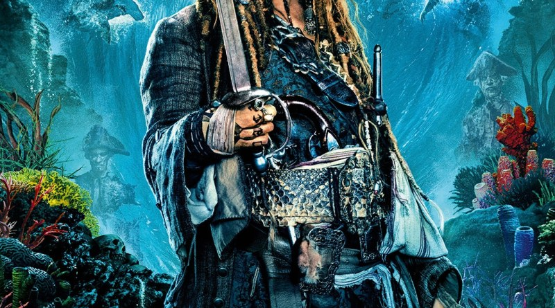 Pirates Of The Caribbean: Dead Men Tell No Tales international character poster