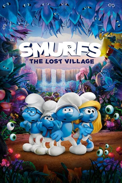 """Poster for the movie """"Smurfs: The Lost Village"""""""