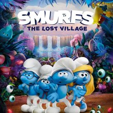 "Poster for the movie ""Smurfs: The Lost Village"""