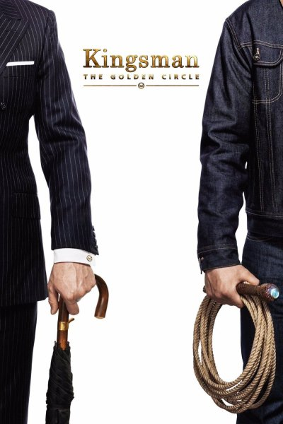 """Poster for the movie """"Kingsman: The Golden Circle"""""""