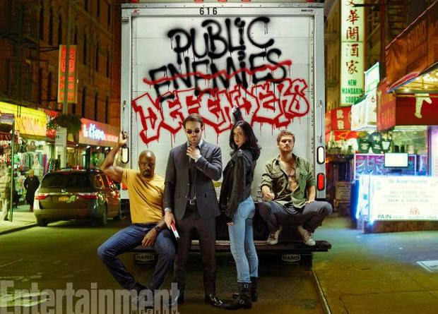 Marvel's The Defenders (Netflix) courtesy of EW